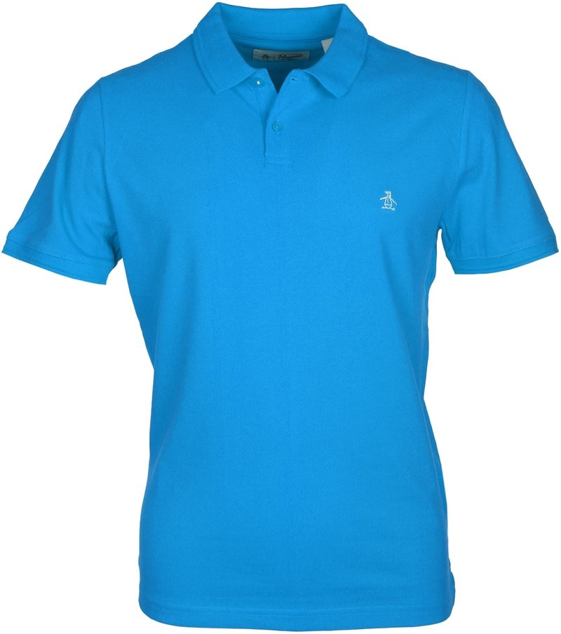 Original Penguin Polo Blauw  online bestellen | Suitable