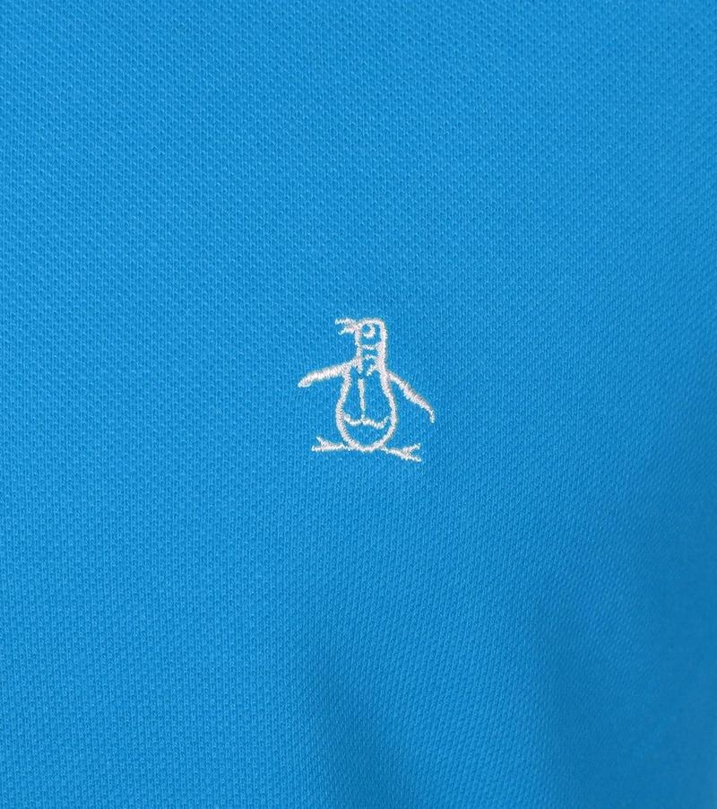 Detail Original Penguin Polo Blauw