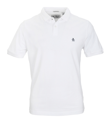 Detail Original Penguin Polo Wit