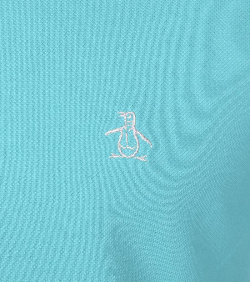 Original Penguin Poloshirt Hellblau Foto 1