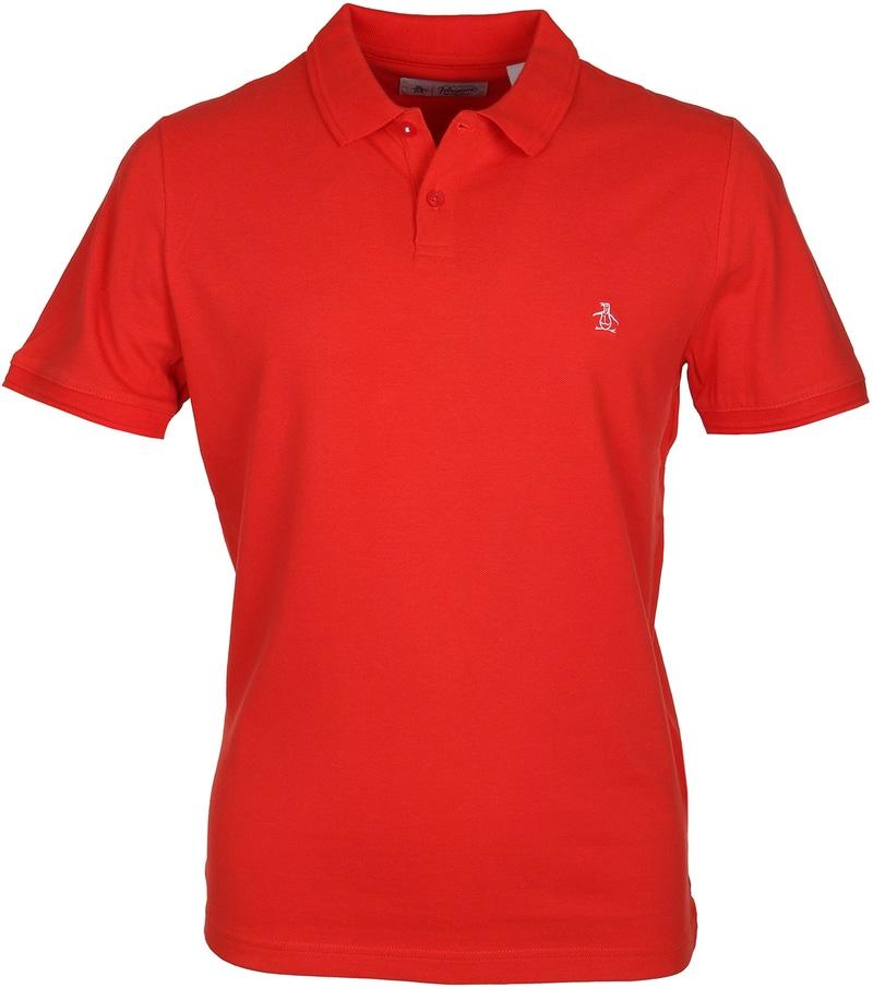 Original Penguin Poloshirt Orange  online kaufen | Suitable