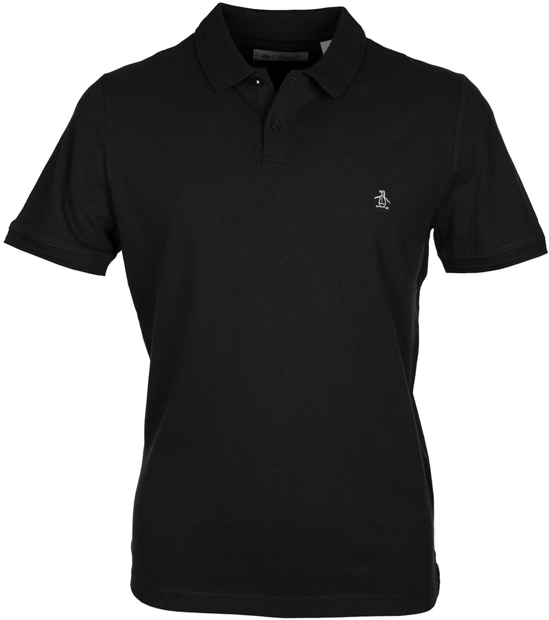 Original Penguin Poloshirt Schwarz  online kaufen | Suitable