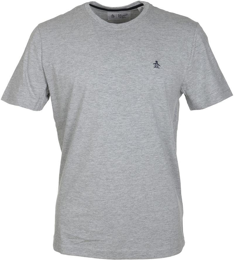 Detail Original Penguin T-shirt Grijs