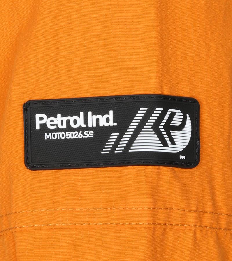Petrol Hooded Parka Oranje