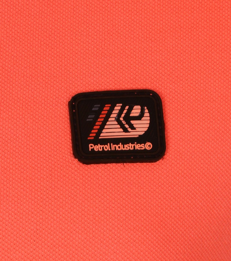 Petrol Polo Neon Oranje