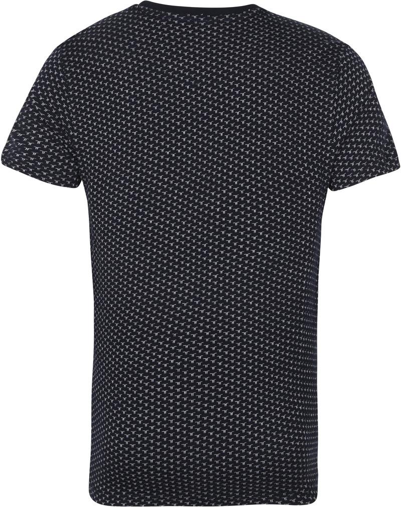 Petrol T-Shirt Patroon Navy
