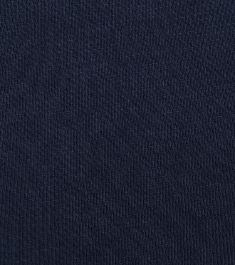 Petrol Trui Logo Donkerblauw