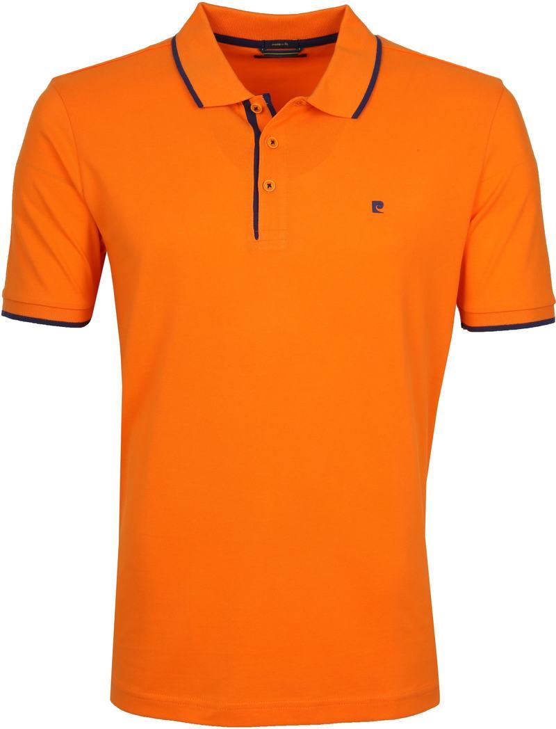 Pierre Cardin Polo Oranje Airtouch foto 0