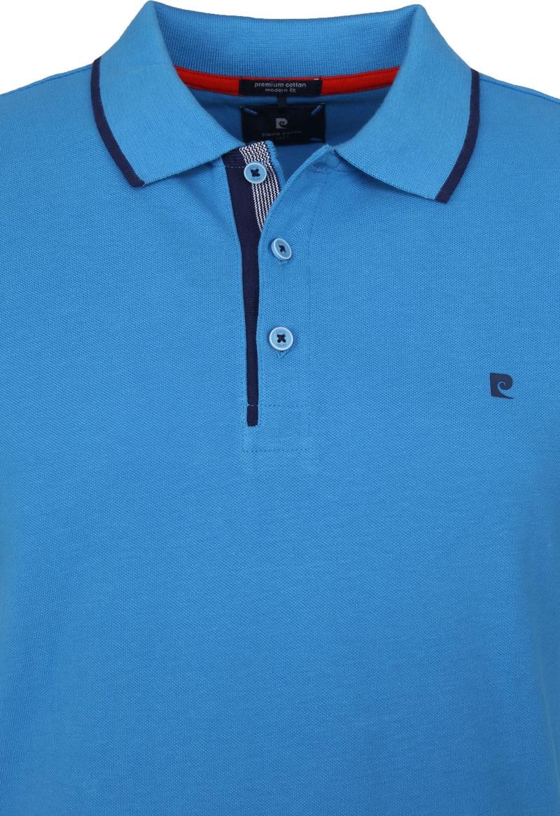 Pierre Cardin Poloshirt Diving Blue Foto 1