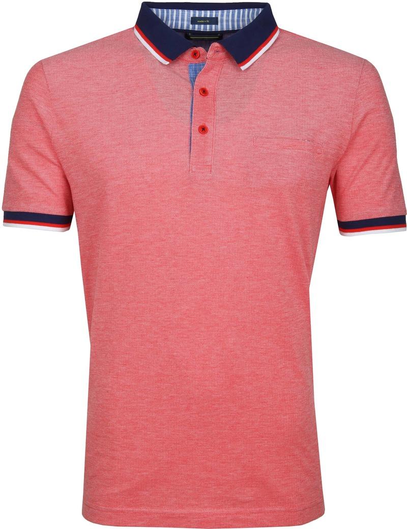 Pierre Cardin Poloshirt Rot Foto 0