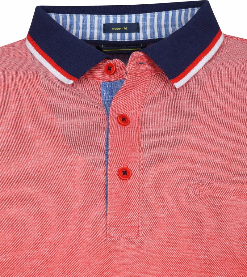 Pierre Cardin Poloshirt Rot Foto 1