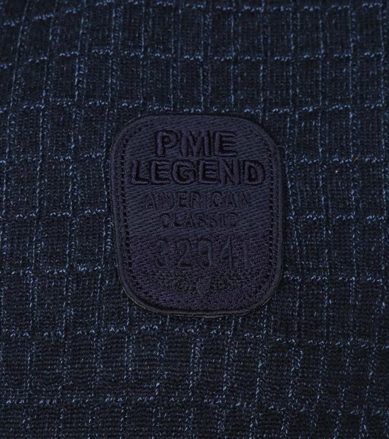 PME Legend Half Zip Trui Donkerblauw