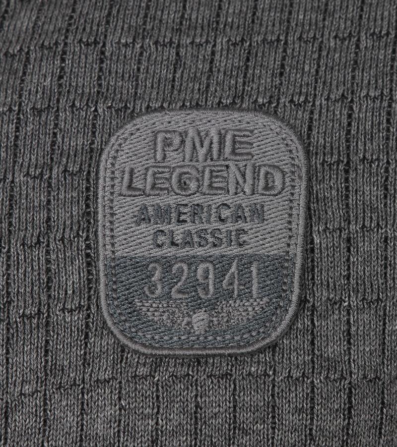 PME Legend Half Zip Trui Grijs