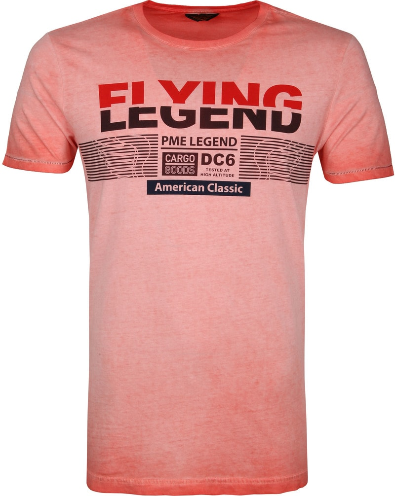 PME Legend T-Shirt Print Rood foto 0