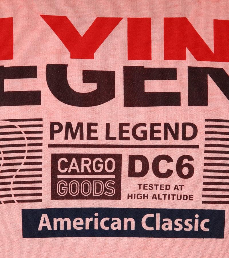 PME Legend T-Shirt Print Rood foto 2