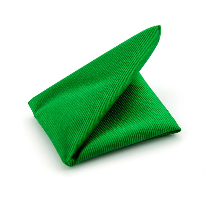 Pochet Zijde Smaragd Groen F68