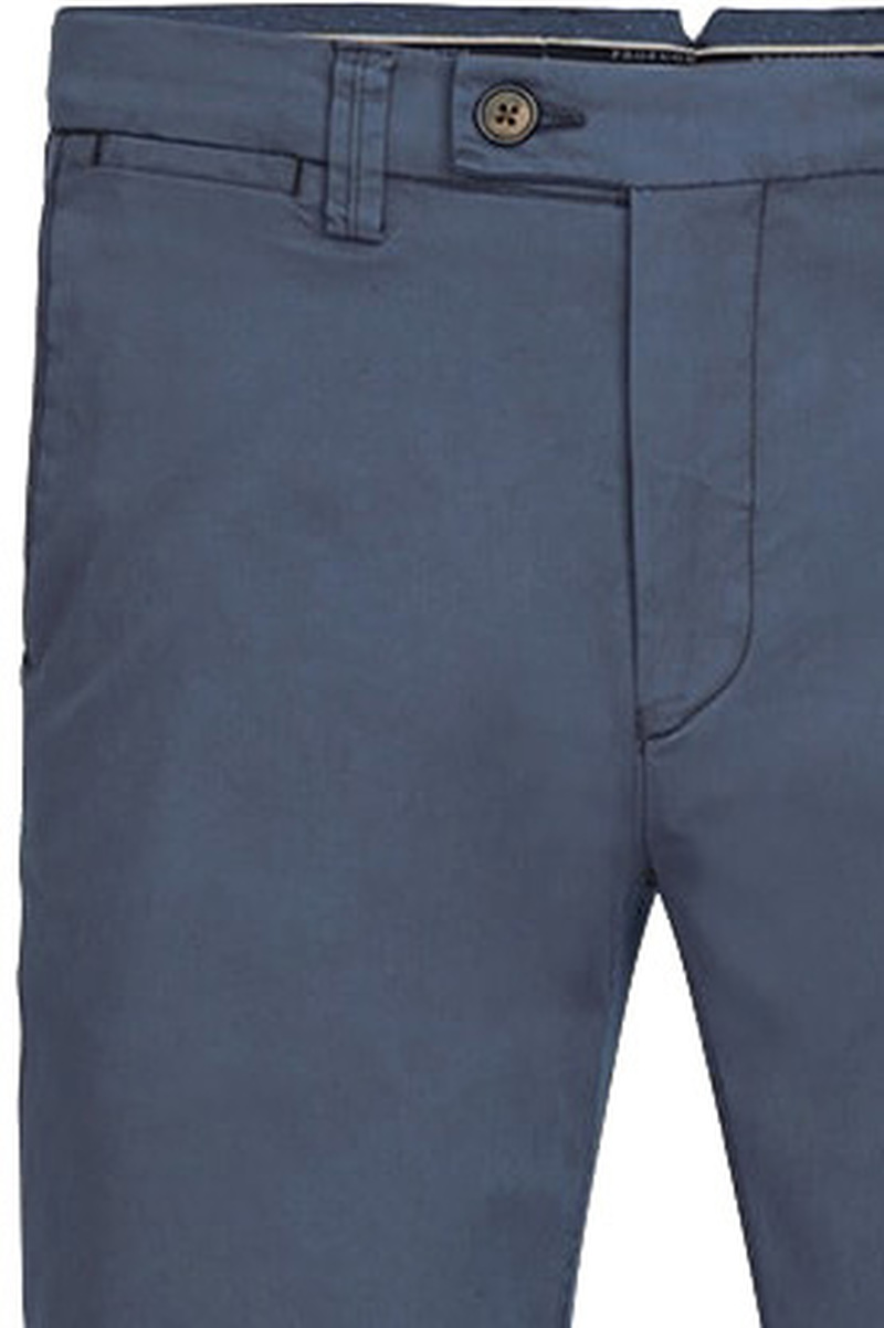 Profuomo Chino Garment DYE Blauw foto 1