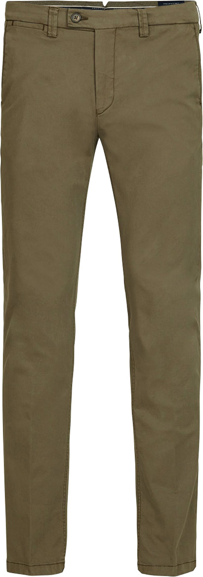 Profuomo Chino Garment DYE Green photo 0
