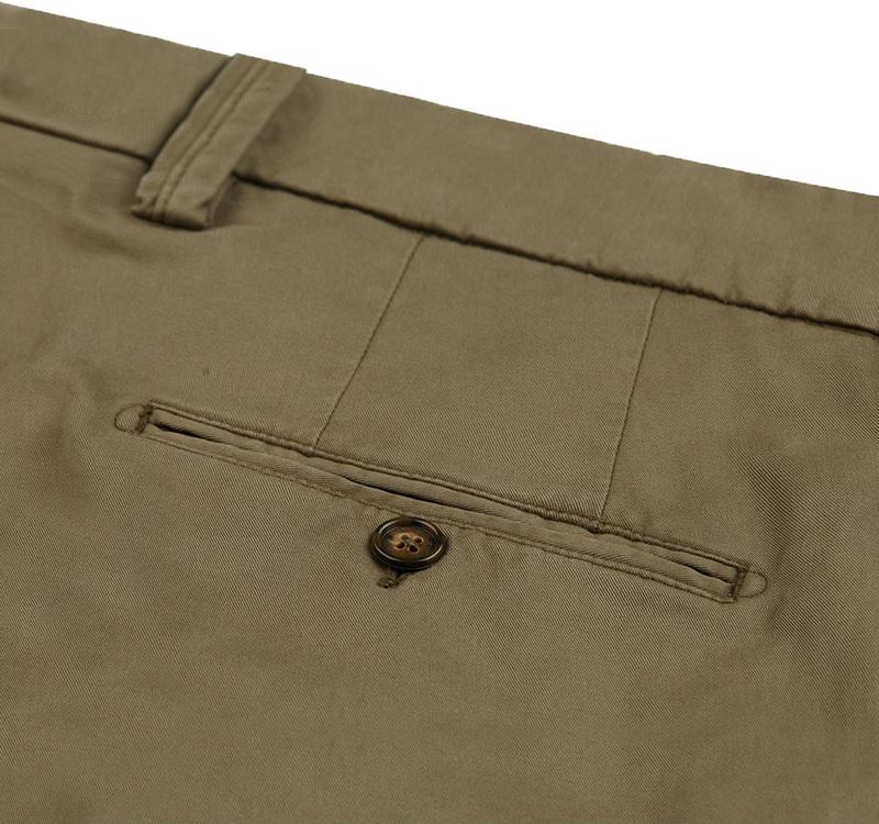 Profuomo Chino Garment DYE Green photo 2