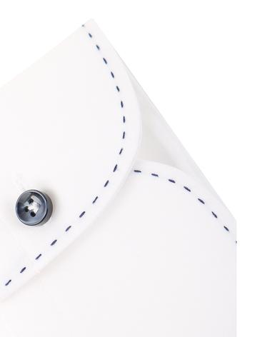 Detail Profuomo Cutaway Shirt Wit