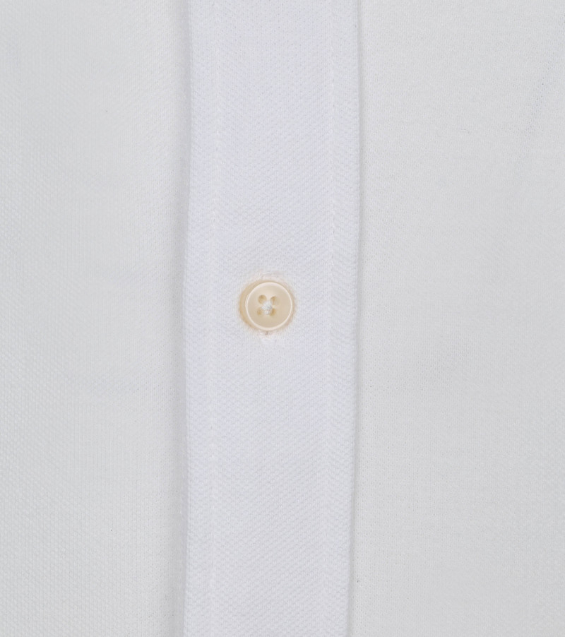 Profuomo Hemd Garment Dyed Button Down Wit