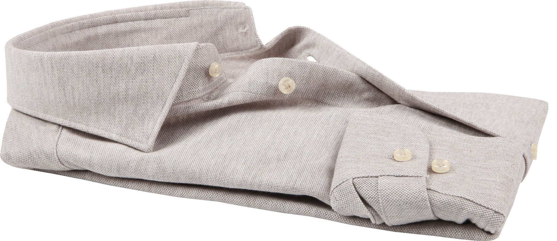 Profuomo Hemd Knitted Beige
