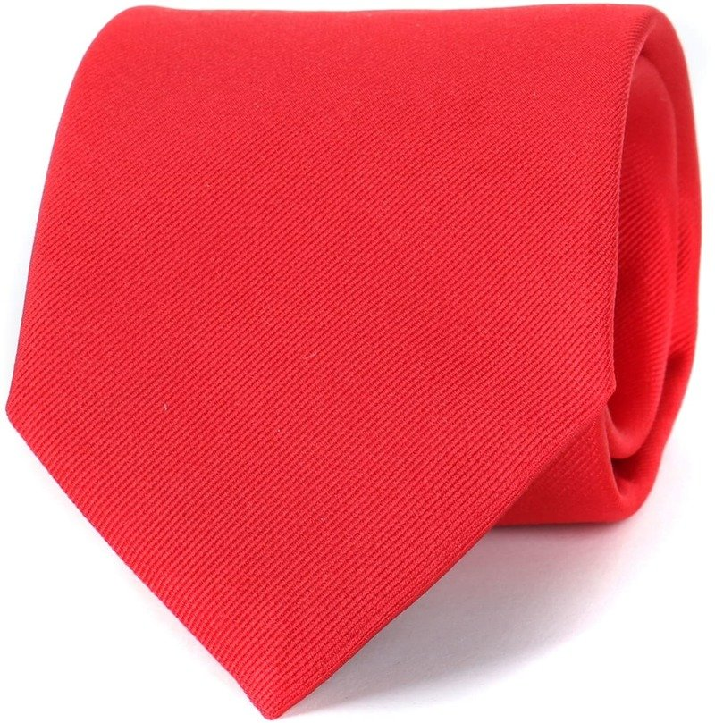 Profuomo Krawatte Rot 16R Foto 0