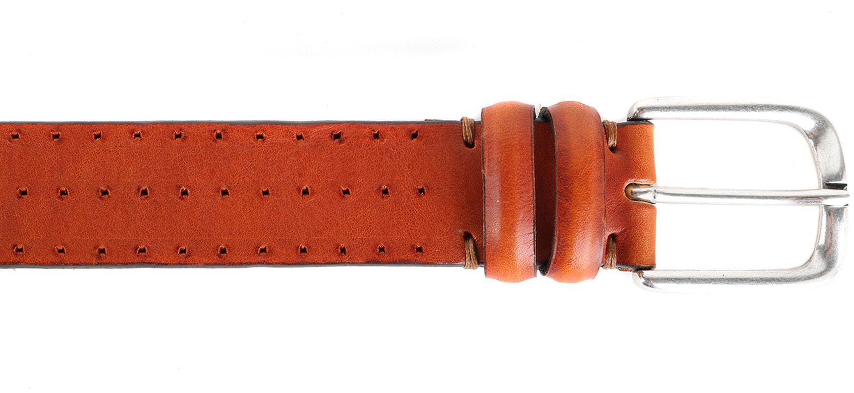 Profuomo Leather Belt Berlin Cognac photo 1