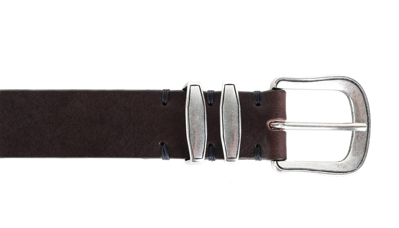 Profuomo Leather Belt Paris Brown photo 1