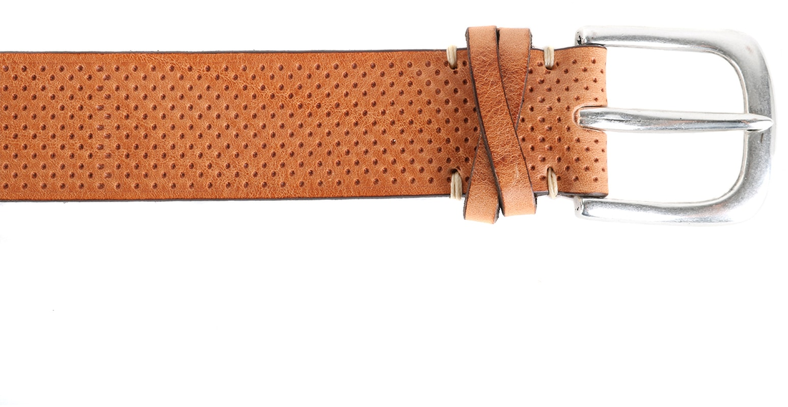 Profuomo Leather Belt Roma Neutral