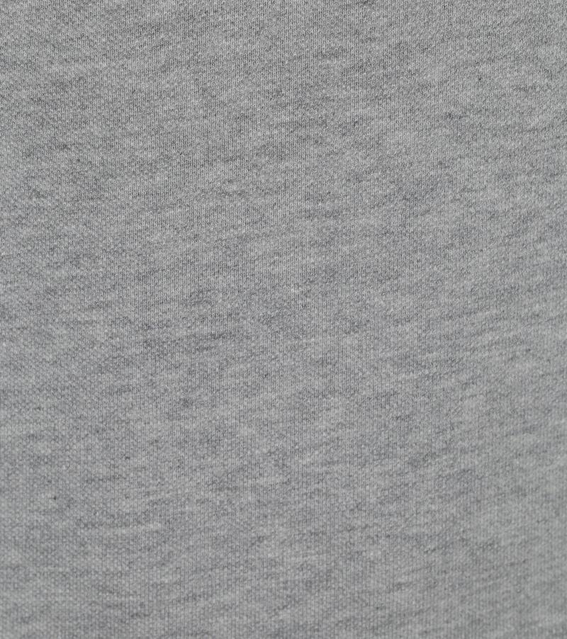 Profuomo Long Sleeve Polo Lichtgrijs