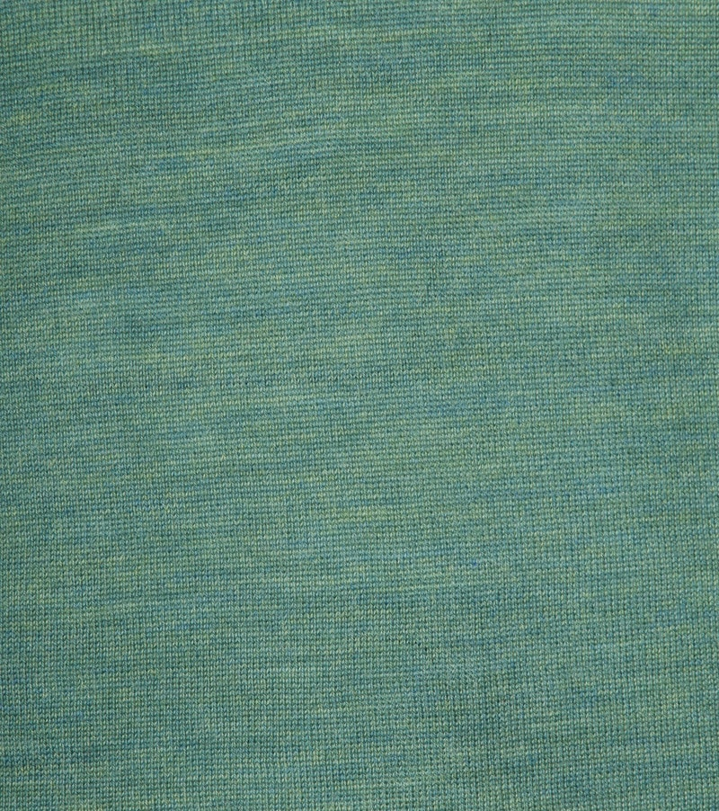 Profuomo Longsleeve Polo Groen foto 2