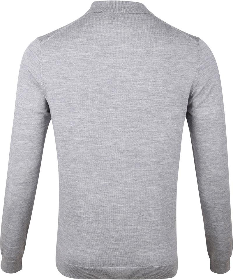 Profuomo Merino Poloshirt Grey photo 2