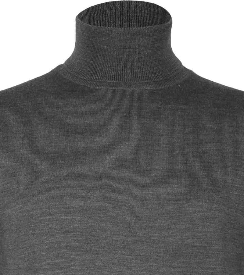 Profuomo Merino Turtleneck Dark Grey photo 1