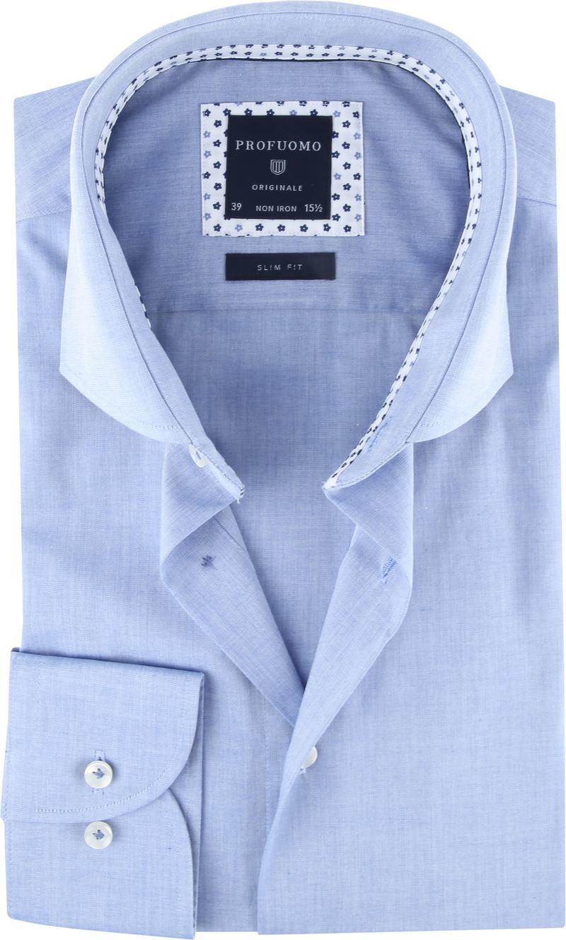 Profuomo Originale Hemd Blauw foto 0