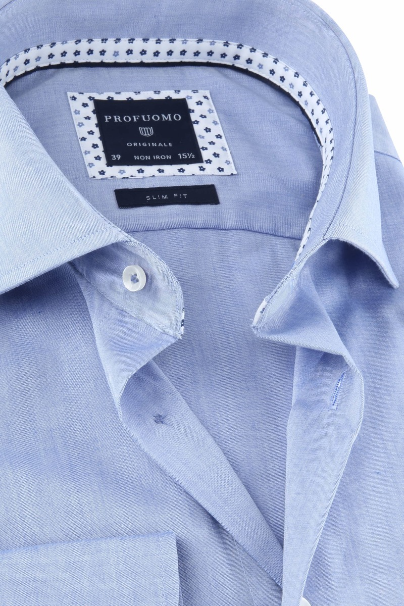 Profuomo Originale Hemd Blauw foto 1