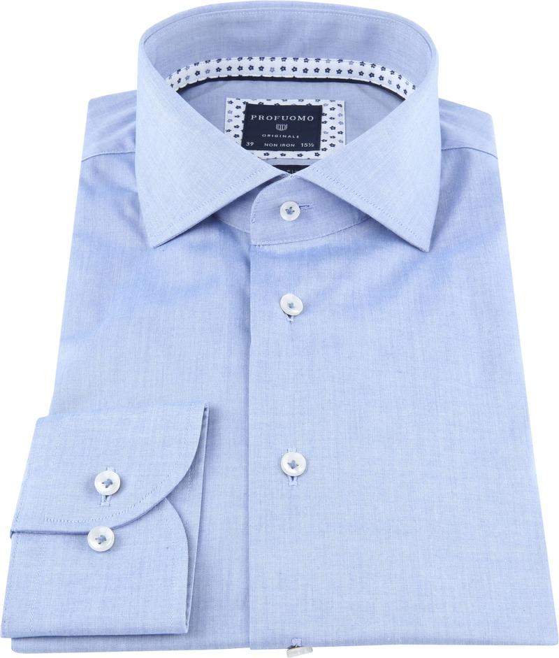 Profuomo Originale Hemd Blauw foto 2