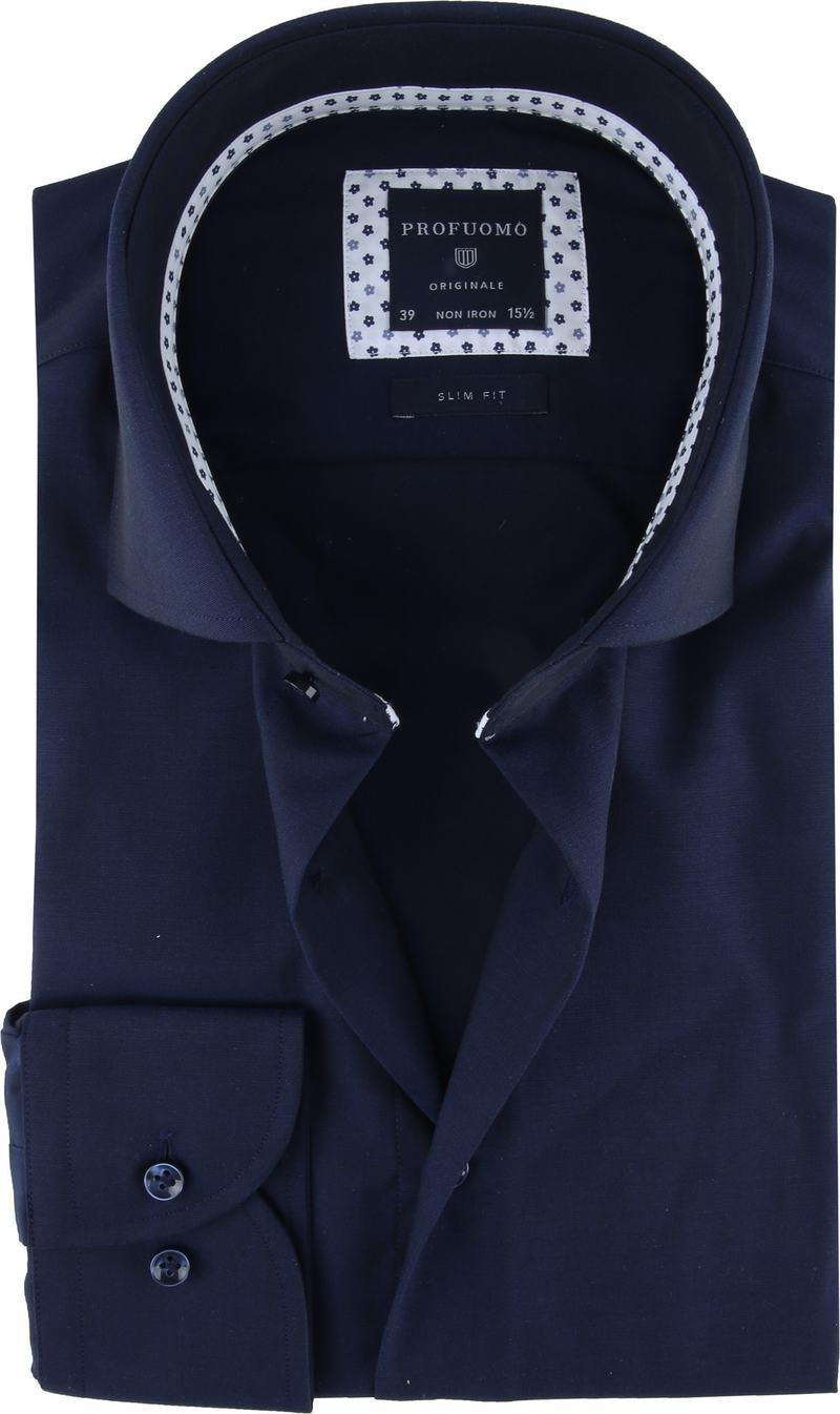 Profuomo Originale Overhemd Donkerblauw foto 0