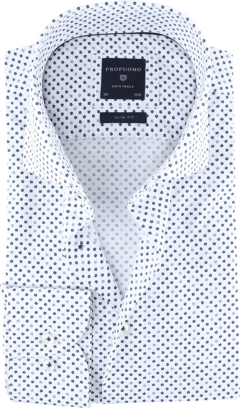 Profuomo Originale Shirt White Print photo 0