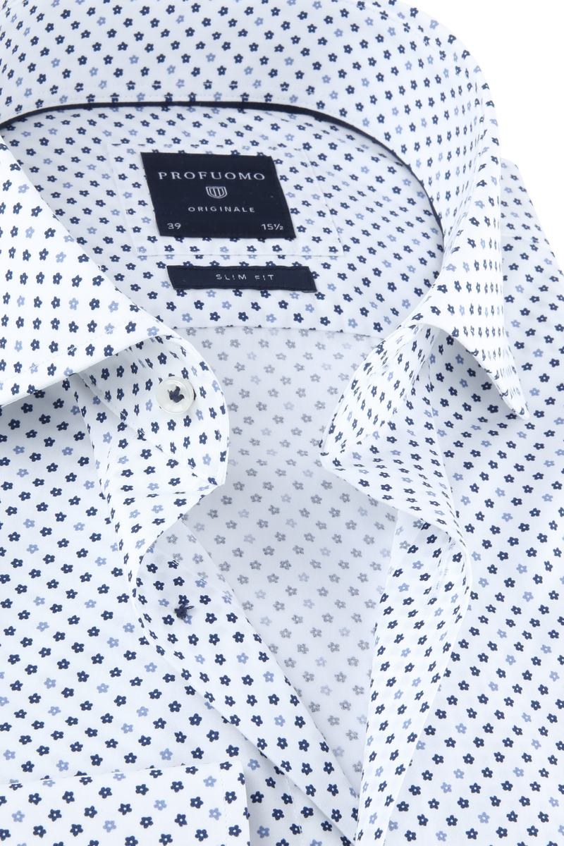 Profuomo Originale Shirt White Print photo 1