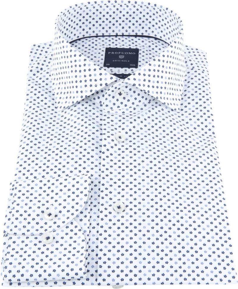 Profuomo Originale Shirt White Print photo 2
