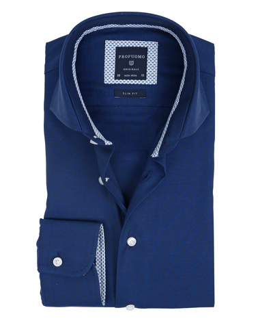 Profuomo Overhemd Non Iron Navy  online bestellen | Suitable