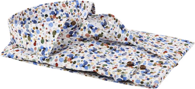 Profuomo Overhemd Polka Dot Print foto 3