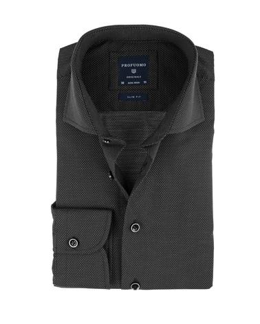 Profuomo Overhemd Zwart SF Non Iron  online bestellen | Suitable