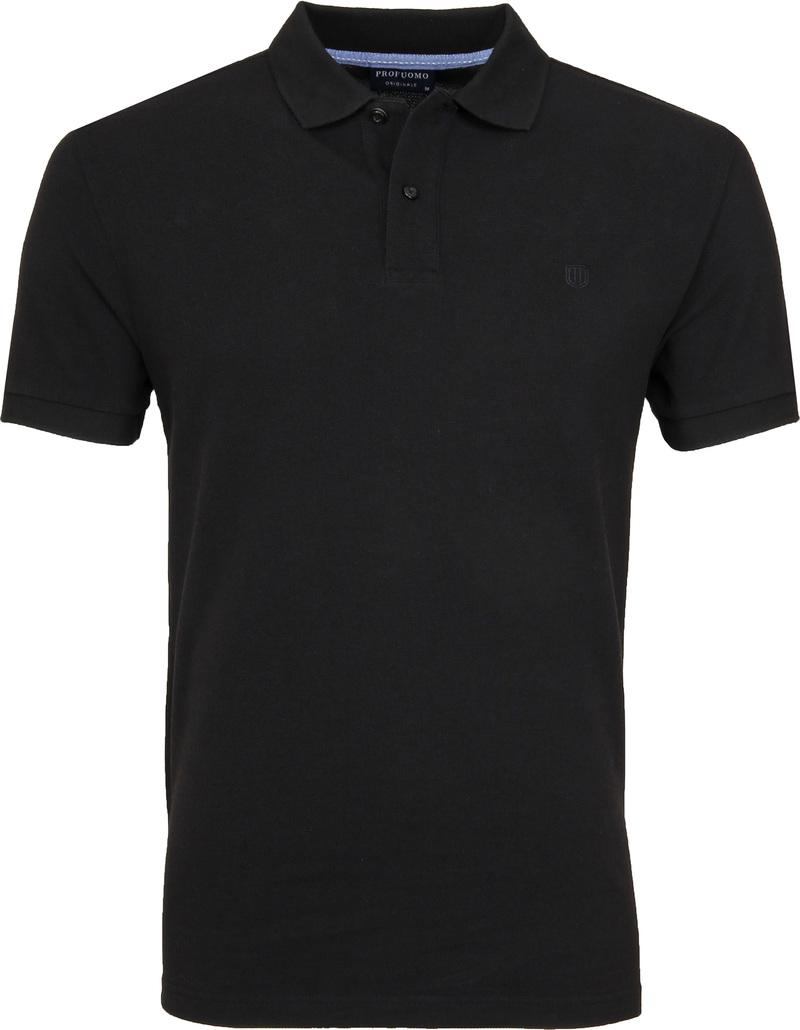 Profuomo Polo Zwart
