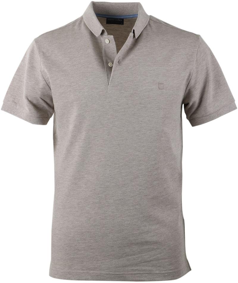 Profuomo Poloshirt Beige  online bestellen | Suitable