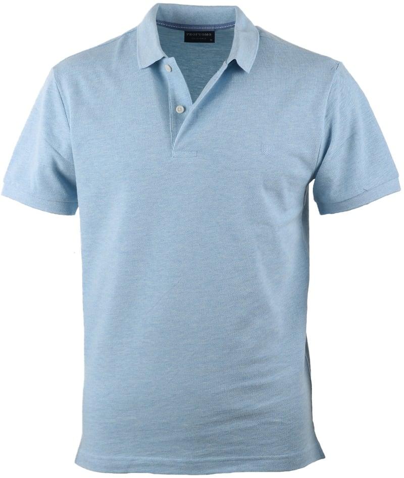 Profuomo Poloshirt Blauw  online bestellen | Suitable