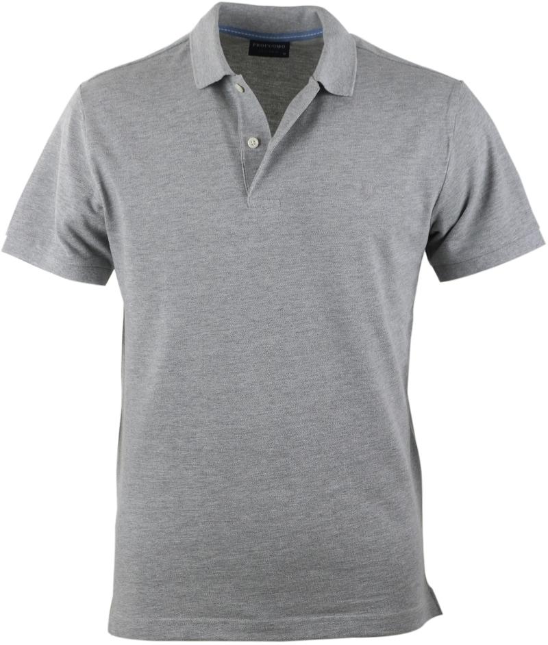 Profuomo Poloshirt Grijs  online bestellen | Suitable