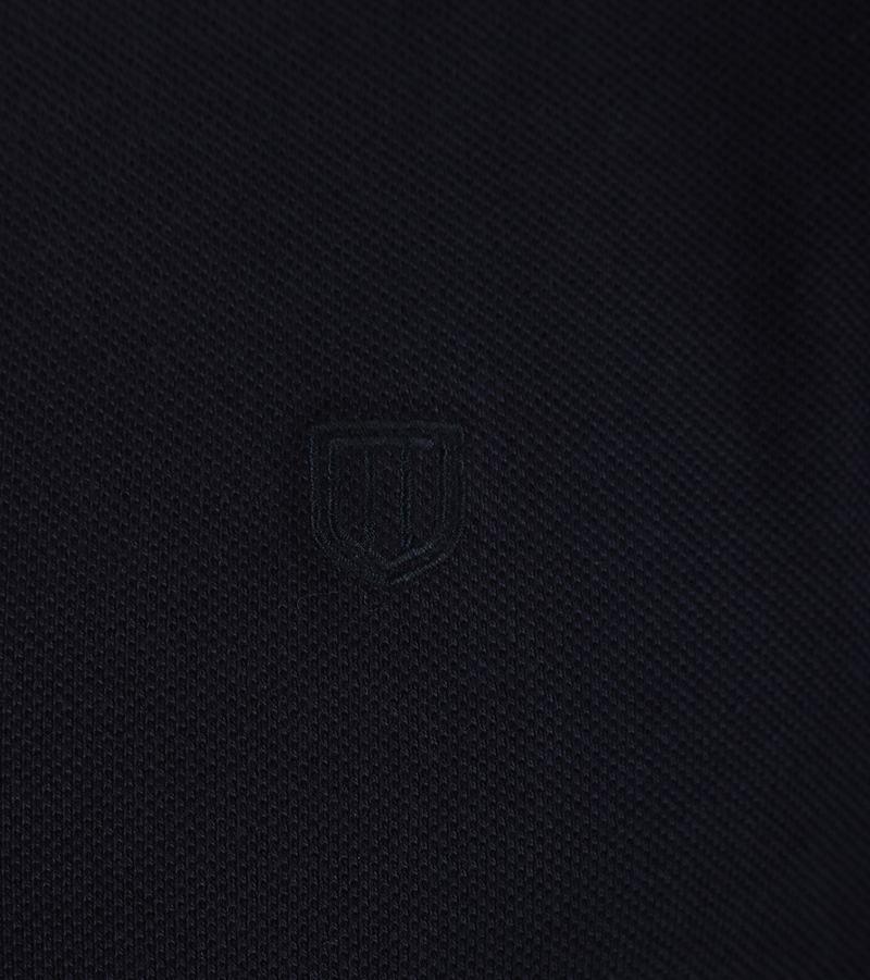 Detail Profuomo Poloshirt Navy