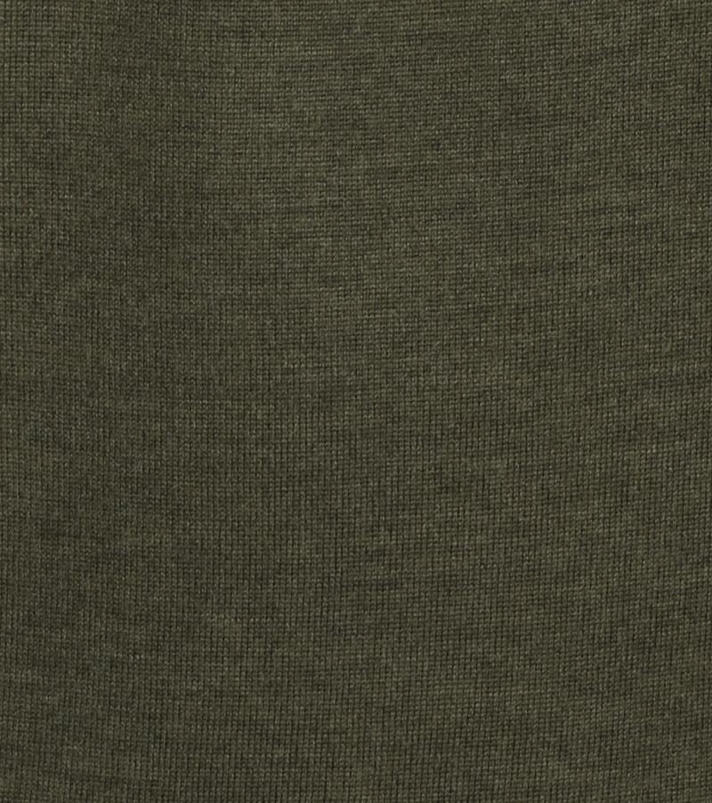 Profuomo Pullover Merino V-Hals Army Foto 1